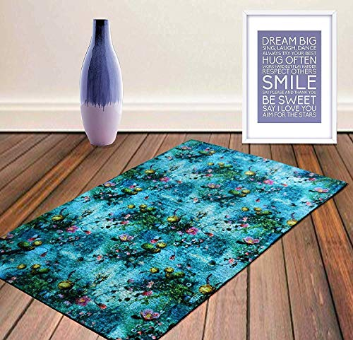 - Sea Flowers Neo Modern Handmade Carpet