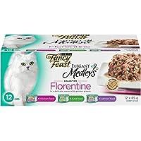 Purina Fancy Feast Medleys Florentine Wet Cat Food Variety Pack - 85 g (12 pack)