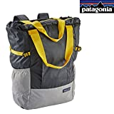 Patagonia Lightweight Travel Tote Pack (Forge Grey/Chromatic Yellow)