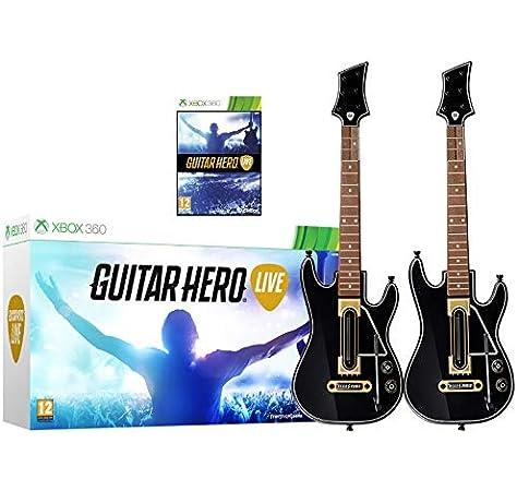 Guitar Hero Live Paquete de 2 - Xbox 360: Amazon.es: Instrumentos musicales