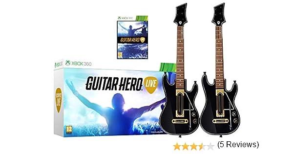 Guitar Hero Live Paquete de 2 - Xbox 360: Amazon.es: Instrumentos ...