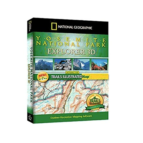 Yosemite National Park Explorer 3D Yosemite Natl Park Map