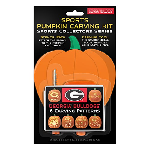 NCAA Georgia Bulldogs Pumpkin Carving Kit
