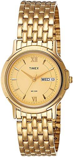 Timex-Mens-Analog-Dial-Watch-Beige