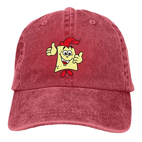 Aiguan Spongebob Vintage Cowboy Baseball Caps Trucker Hats Red -