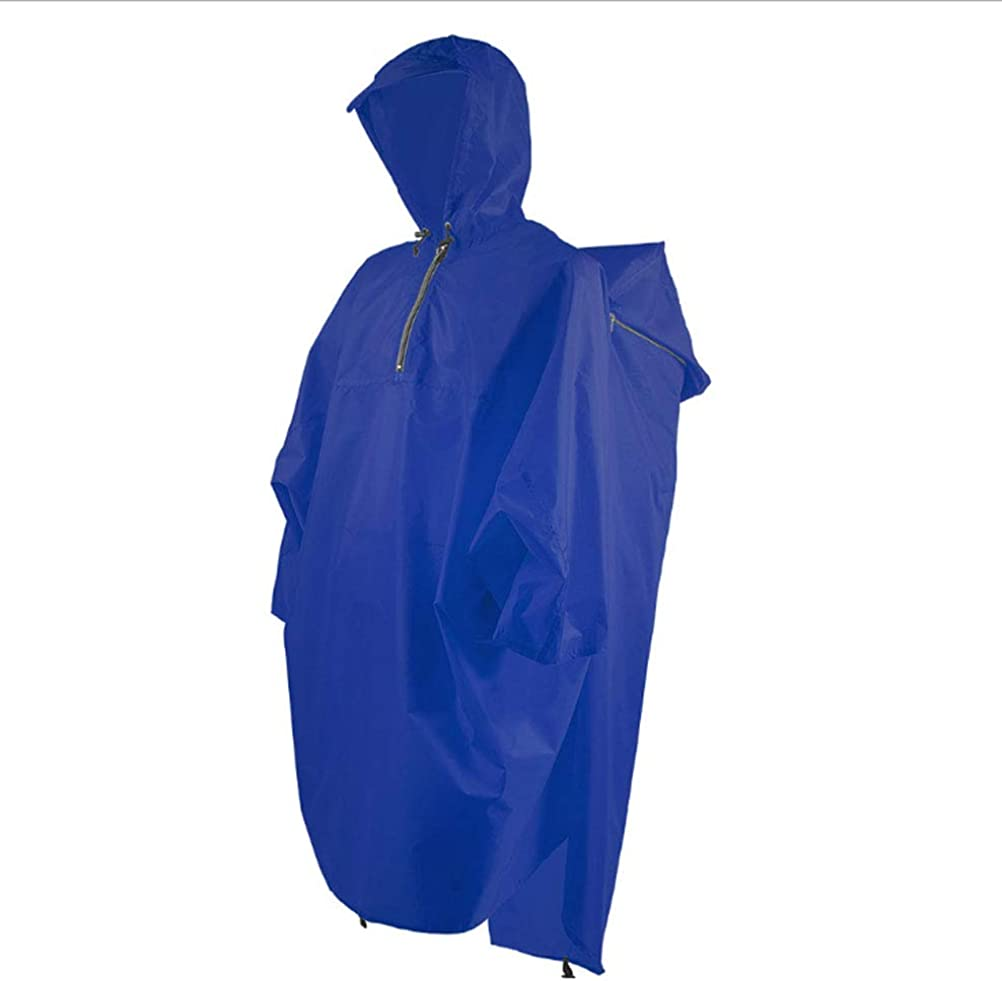 Bluefield Lightweight Backpack Poncho Sapphire Blue – SPECIAL CYBER MONDAY PRICING