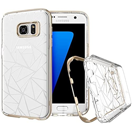 Samsung Galaxy S7 case, Prodigee [Trim] White ice for Galaxy S7 (2016) Cell Phone Case 2-piece [1-YEAR WARRANTY] Sales