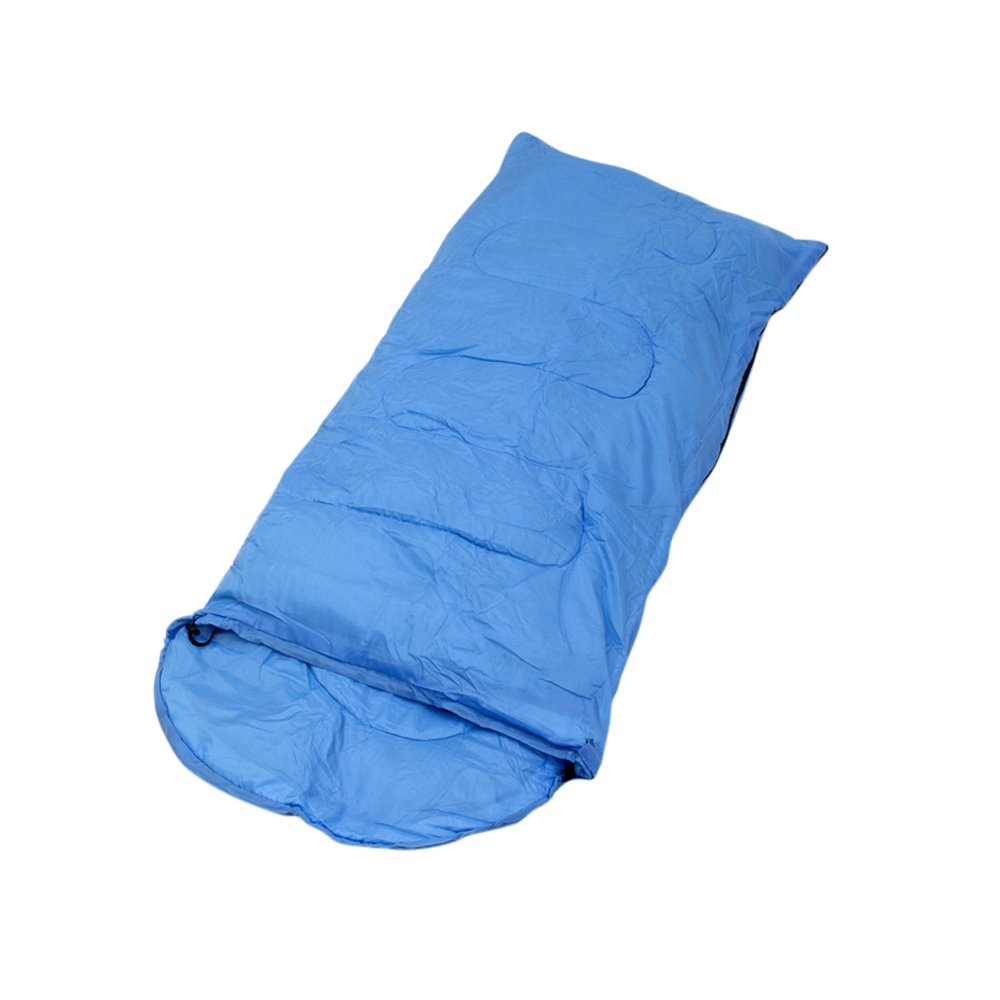 [Plixio]Plixio and Kids Sleeping Bags Pink or Blue Slumber Bag with Carry Bag 70 x 28 [並行輸入品]  Blue B015JMJ3EC