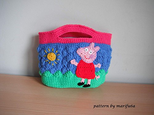 Crochet Pattern Peppa Pig Purse Bag By Marifu6a Crochet Pattern