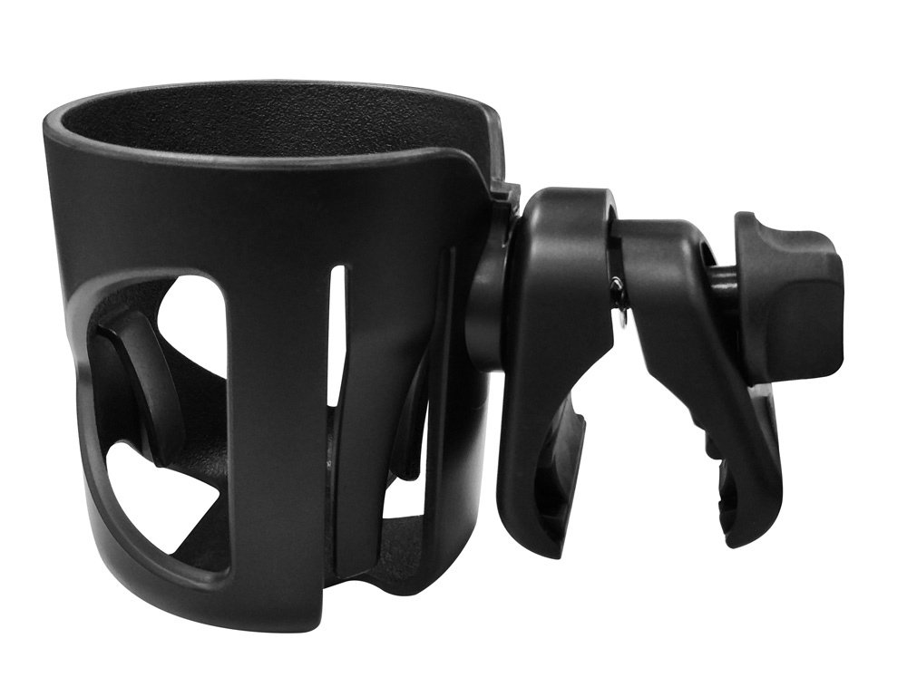 Dreamsoule Universal Stroller Clip Cup Holder Baby Bottle Rack Fits Most Strollers/Wheelchairs/Rollators/Walkers/Bicycles/Carriage Accessory