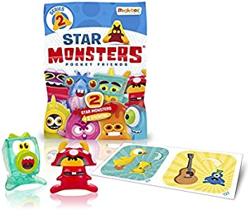 Magic Box MBX005033 Star Monsters Series 2 Packets Display 30 Packets