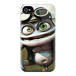 Case Cover Crazy Frog/ Fashionable Case For Iphone 4/4s by runtopwellby Maris's Diary