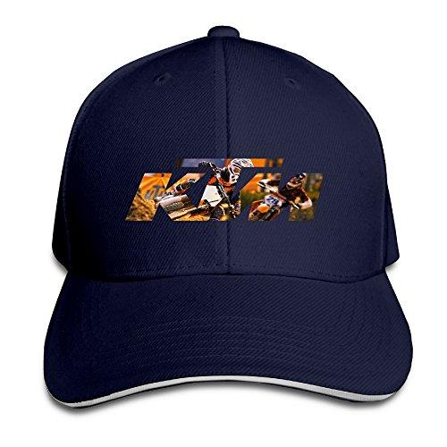 (Karoda KTM Ready To Race Sandwich Hunting Peak Hat & Baseball Cap Navy)