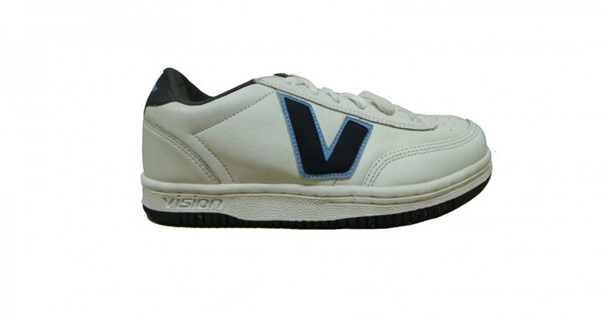 Vision Vision Vision Street wear Skateboard Schuhe Turnschuhe Weiß Navy, Schuhgrösse 39 dae83d