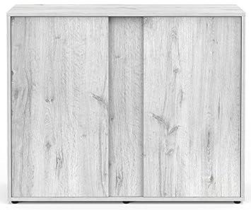 Mueble para Acuario Expert 100 roble blanco Aquatlantis: Amazon.es: Productos para mascotas