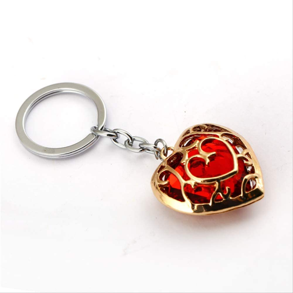 Game Legend of Zelda Metal Key Chain Alloy Key Ring Pendant Unisex Necklace Gift