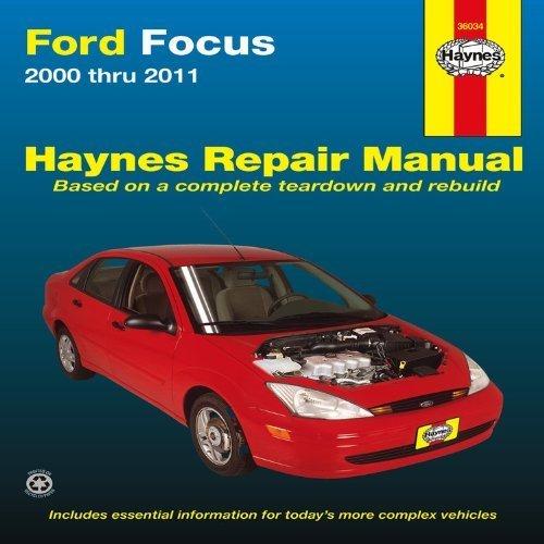 Download Ford Focus 2000 thru 2011 (Haynes Repair Manual) 1st by Haynes, Max (2012) Paperback pdf