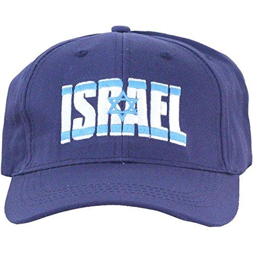 Nana Gifts Israel Hat, Israel Flag Embroidery