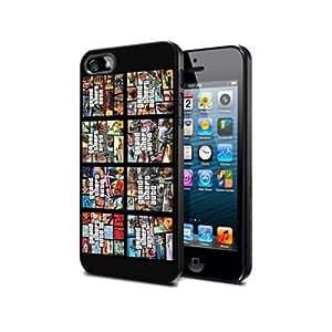 Gta07 Grand Theft Auto V 5 Silicone Cover Case Iphone 5c