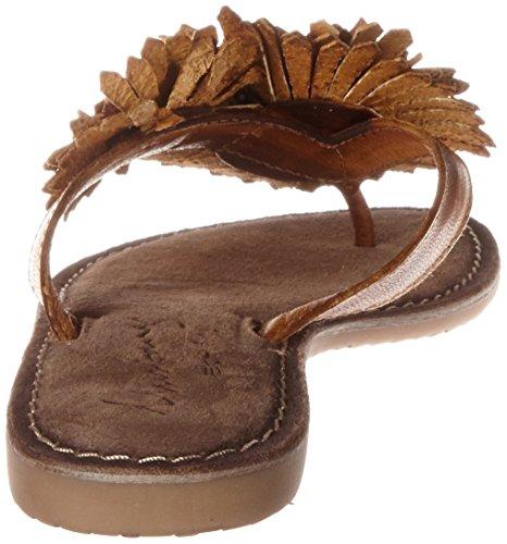 307 Mustang Sandales Femme 307 Ouvert 801 Marron Cognac Bout 3125 qppER