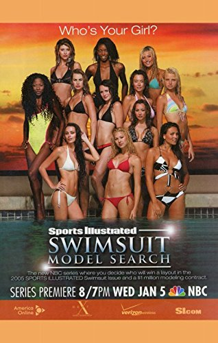 Sports Illustrated Swimsuit Model Search Poster TV 27x40