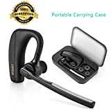 Bluetooth Headset, WISMRT V4.1 Hands Free In Ear Wireless Earpiece Earbuds Car Earphones Headphones with Mic Noise Cancelling for Office/Business/Trucker/Driver Support iPhone,Samsung,Cell phones Review