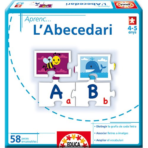 Educa Borrás 14238 - Aprenc...LAbecedari product image