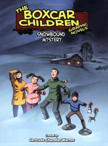 Snowbound Mystery: A Graphic Novel (Boxcar Children Graphic Novels) by Gertrude Chandler Warner (2009-09-01)