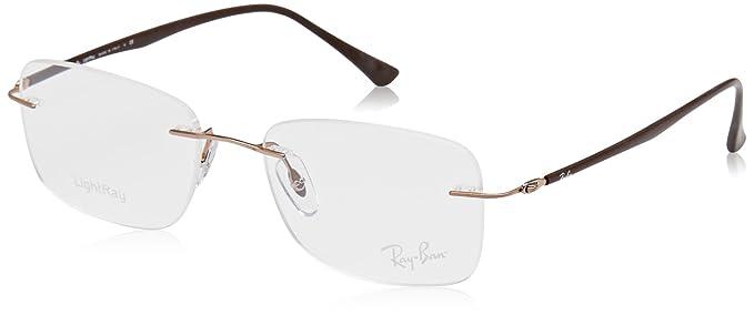 Amazon.com: Ray-Ban óptico 0rx8725 Gafas de sol Para Hombre ...