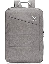ac4219c6f6b9 Water Ressistant Office Backpack Travel Business Bag College School Laptop  Backpack Large 17 inch Grey