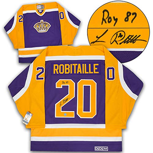 96f911a31 Luc Robitaille Los Angeles Kings Memorabilia