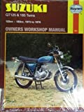 Suzuki Gt 125 and Gt 185 Owners Workshop Manual (Haynes owners' workshop manuals for motorcycles)