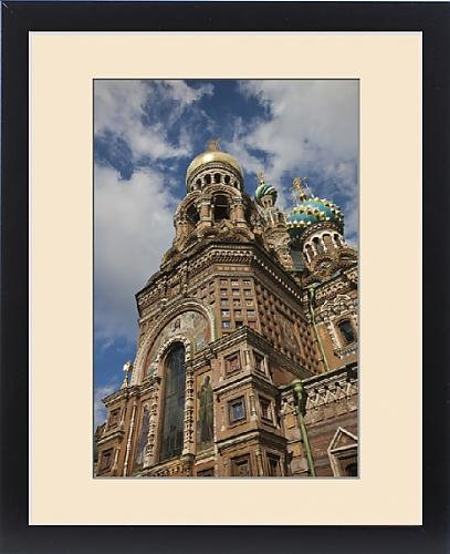 Framed Print of Russia, Saint Petersburg, Center, Church of the Saviour of Spilled Blood on by Fine Art Storehouse