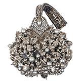 Mary Frances Mercury Rising Silver Wristlet Handbag, Bags Central