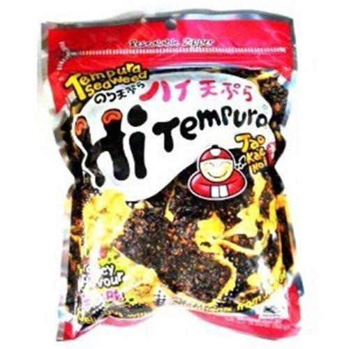 Tao Kae Noi - Hi Tempura Seaweed Spicy Flavor - 6 x 25 g - Product of Thailand by Tao Kae Noi by Tao Kae Noi
