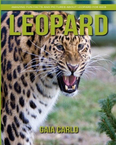 Leopard: Amazing Fun Facts and Pictures about Leopard for Kids