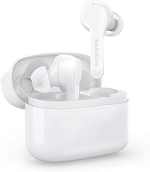 Soundcore Liberty Air Auriculares inalámbricos con Estuche de Carga, Bluetooth 5, Tiempo de reproducción de 20 Horas, Control táctil, Sonido Mejorado con grafeno: Amazon.es: Electrónica