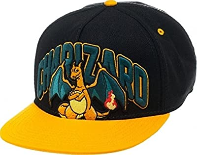 BIOWORLD Pokemon Charizard Snapback Cap by Japan VideoGames