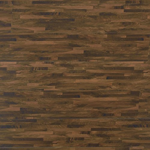 Premium Vinyl Dielen | EN klassifiziert + Emissionsfrei | Silent Step Blockwood Nussbaum | Stecksystem | edle Holzoptik | 10,56 qm (48 Stück)