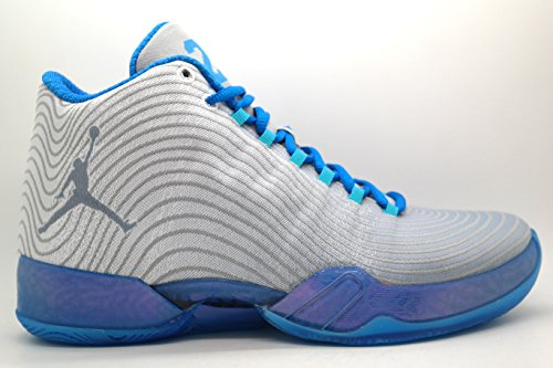 Jordan Nike Men's Air XX9 Playoff Pack White/Cool Blue/PHT Bl/Trqs Bl Basketball Shoe 10 Men US