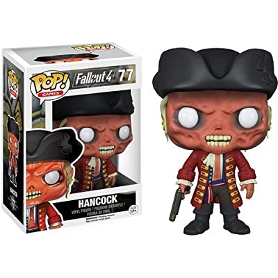 Funko Pop Games: Fallout 4-John Hancock Action Figure: Funko Pop! Games:: Toys & Games