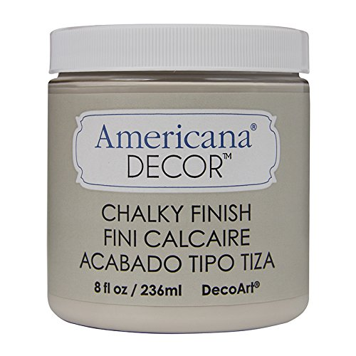 Distressed Paint Finish - DecoArt Americana Chalky Finish Paint 8oz, Primitive