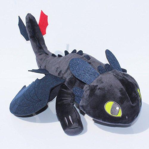 "How to Train Your Dragon 2 Anime Animal Stuffed Plush Toys 16"" Toothless"