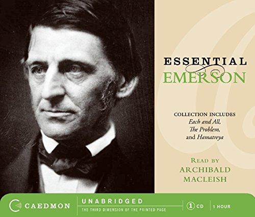 ralph waldo emerson audio cd - 1
