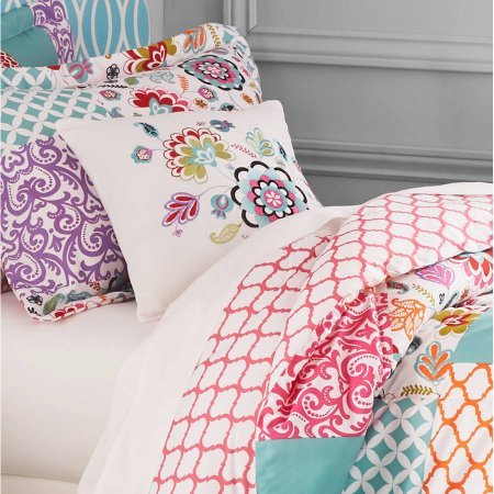 Better homes and gardens kids boho patchwork bedding - Better homes and gardens comforter sets ...