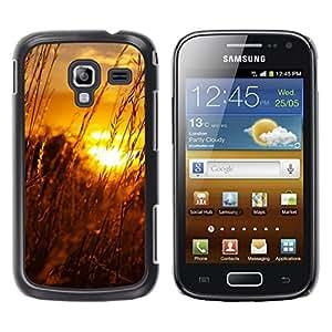 Paccase / SLIM PC / Aliminium Casa Carcasa Funda Case Cover - Sunset Beautiful Nature 61 - Samsung Galaxy Ace 2 I8160 Ace II X S7560M