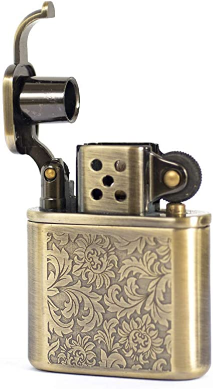 Antique Copper Style Oil Lighter With Gift Box