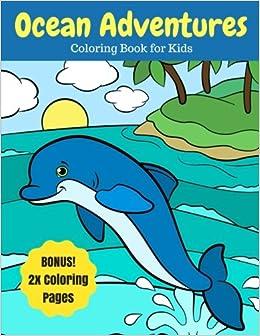 Undersea Creatures Coloring Page | crayola.com | 336x260