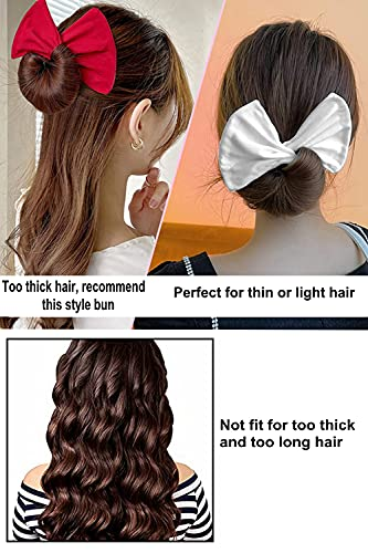5pcs Deft Bun Maker for hair, Magicalmai Upgraded Hair Bun Maker French Twist Bun Shaper Updos Hairstyle Donut Bun Maker Quick Cloth Bun Maker Reusable Bun Twister For Women Girls Kids Ballerina