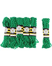 Flameer Wholesale 80 Yards 5mm Terylene Ribbon RIC Rac Trims Rick Rack Zig Zag Lace Trimming Ribbon for Patchwork Sewing Craft Decoration - 4 Colors to Select